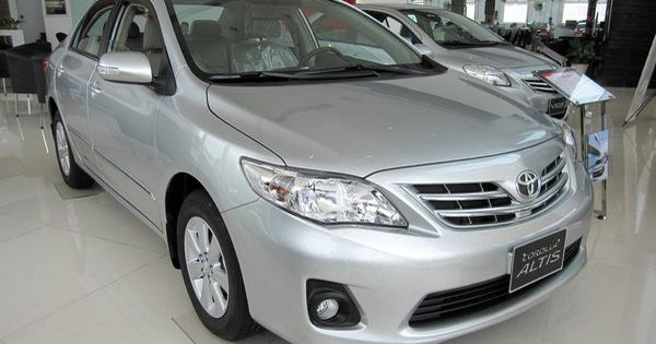 20.490 xe Toyota và Lexus tại Việt Nam bị triệu hồi do lỗi liên quan đến túi khí