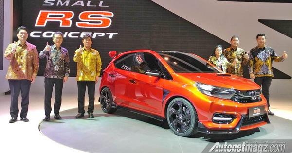 Honda Small RS Concept: Khi Civic Type R có con riêng