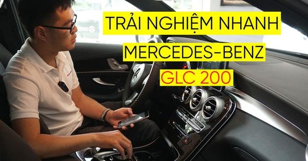 Trải nghiệm nhanh Mercedes-Benz GLC 200 – Sứ mệnh lấy khách phổ thông tại Việt Nam