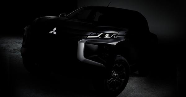 Mitsubishi hé lộ Triton mới mang hình bóng Xpander