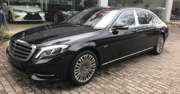 Lăn bánh 13.000km, Mercedes-Maybach S600 2015 giữ giá như mới mua