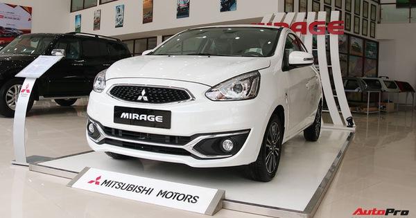 Mitsubishi Mirage thêm nâng cấp, khách hàng tiết kiệm hàng chục triệu đồng tiền sắm đồ