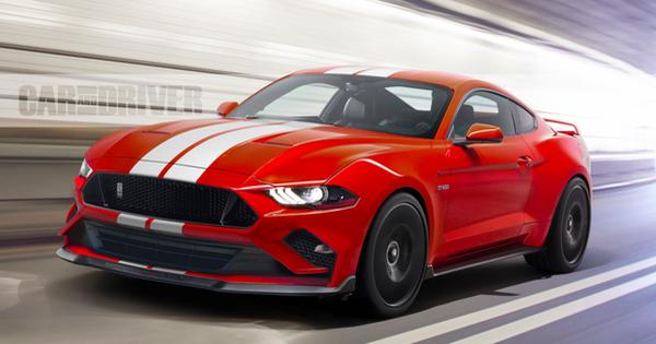 Mustang Shelby GT500 – xe Ford mạnh nhất lịch sử sắp ra mắt