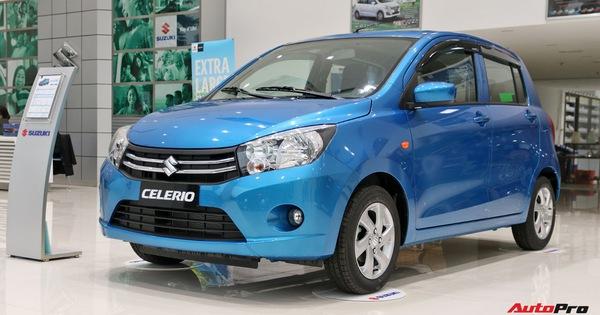Suzuki Celerio giá 359 triệu đồng có gì để cạnh tranh Kia Morning và Hyundai Grand i10?