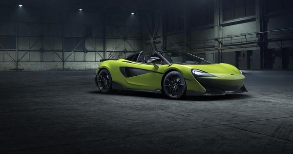 McLaren ra mắt 600LT Spider hoàn toàn mới – Siêu phẩm đầu tiên năm 2019