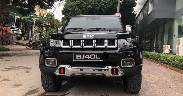 BAIC BJ40L thiết kế như Jeep, nội thất kiểu Mercedes-Benz về Việt Nam ngay trước Tết