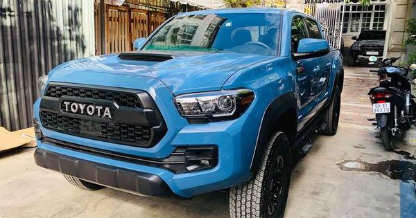 Hàng hiếm Toyota Tacoma TRD Pro đối thủ Ford Ranger Raptor được chào giá gần 3 tỷ đồng tại Việt Nam