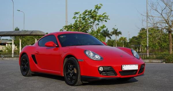 10 năm tuổi, Porsche Cayman chỉ đắt hơn Toyota Camry 150tr đồng