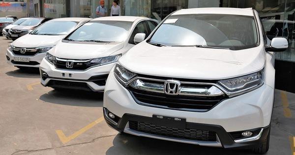 Honda CR-V bán shock hơn 2.800 xe, cân team ngay tháng đầu năm 2019