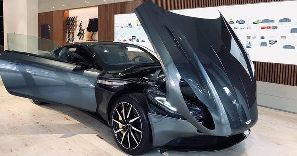 Aston Martin DB11 V8 đầu tiên tại Việt Nam về tay đại gia Vũng Tàu sở hữu Lamborghini và Ferrari