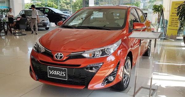 Cú lội ngược dòng ngoạn mục của Toyota Yaris trước Honda Jazz đầu năm 2019
