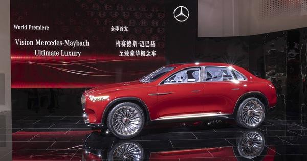 """Mercedes sắp tung siêu phẩm Maybach hoàn toàn mới, """"sang xịn"""" nhất từ trước tới nay để sánh ngang Rolls-Royce"""