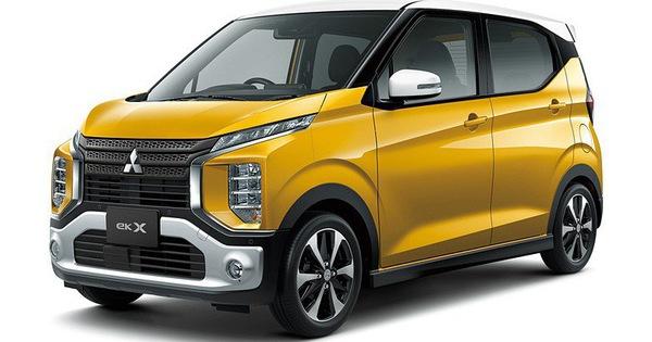 """Mitsubishi trình làng """"mini Xpander"""" có tên eK X"""