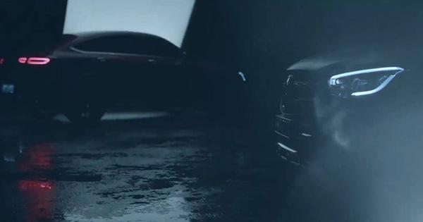 Mercedes-Benz nhá hàng GLC Coupe 2020 cạnh tranh BMW X4