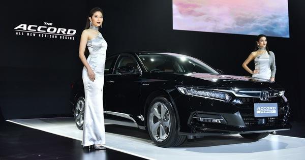 Honda Accord 2019 bản Thái Lan ra mắt, giá khởi điểm từ 1,1 tỉ đồng, sắp về Việt Nam