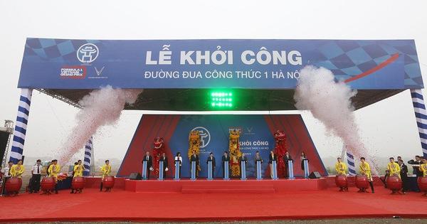 Hà Nội khởi công đường đua F1: Diện tích 88 ha, hài hơn 5,5 km, 22 góc cua, hoàn tất vào tháng 3/2020