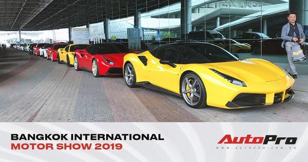 """Dàn siêu xe triệu USD """"khoe dáng"""" trước ngày triển lãm lớn nhất Đông Nam Á khai mạc"""