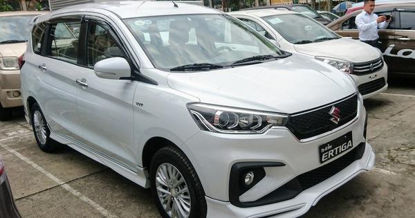Suzuki Ertiga 2019 đã về tới đại lý: Giá từ 499 triệu đồng, bị cắt nhiều trang bị?