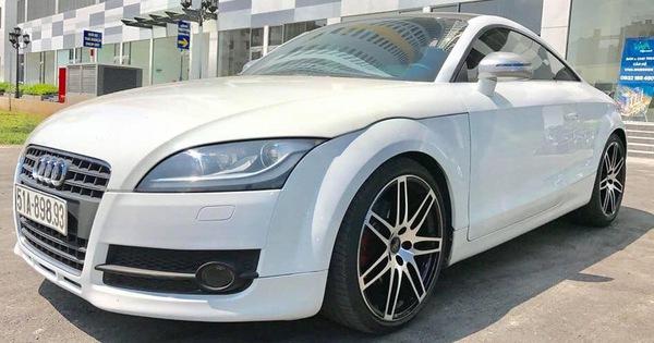Audi TT 2008 độ – Xe chơi giá hơn 600 triệu đồng, bằng lăn bánh Suzuki Swift