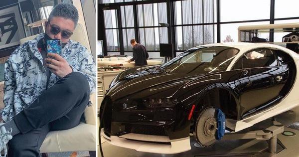 """""""Cậu ấm"""" quẹt thẻ tín dụng của cha để mua siêu xe Bugatti Chiron giá 3,8 triệu USD"""