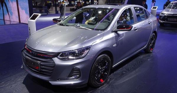 Chevrolet thêm phiên bản thể thao cho mẫu sedan hạng B Onix – đối thủ của Toyota Vios và Hyundai Accent