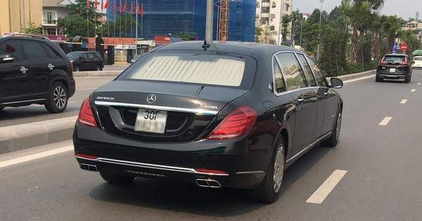 Mercedes-Maybach S600 Pullman của Chủ tịch tập đoàn FLC chính thức có biển trắng