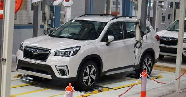 Nhập xe Thái Lan – Chương sử mới của Subaru Việt Nam