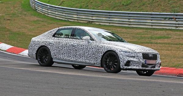 Genesis G80 2020 sẽ ra mắt vào tháng 9 – xe sang cỡ trung mang tham vọng đánh bại Mercedes E-Class, Audi A6 và BMW 5-Series.