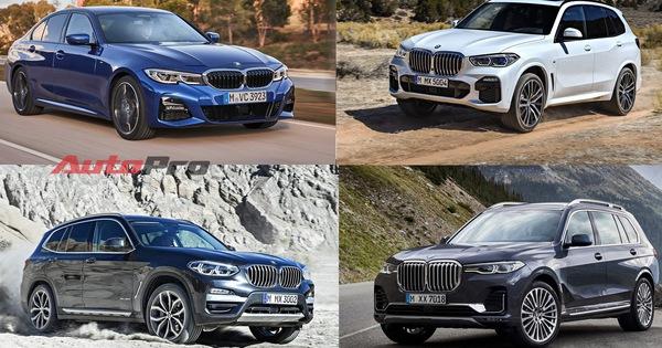 Bộ tứ BMW mới đã nhận cọc, chuẩn bị về Việt Nam đáp trả Mercedes-Benz