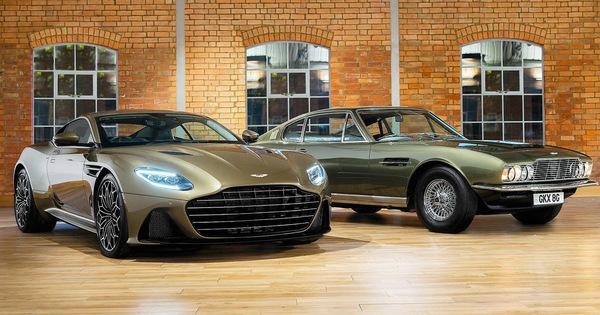 Aston Martin trình làng DBS Superleggera James Bond Special Edition vinh danh điệp viên 007