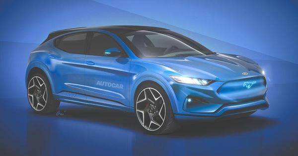 Mach E – SUV điện đầu tiên của Ford, lấy nền tảng Mustang ra mắt ngay năm nay, thách thức ông lớn Tesla
