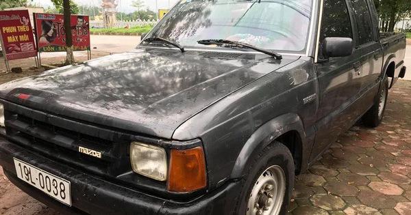 """Xe bán tải """"đời tống"""" Mazda B2200 rao bán giá 35 triệu đồng – ngang giá chiếc xe tay ga tại Việt Nam"""