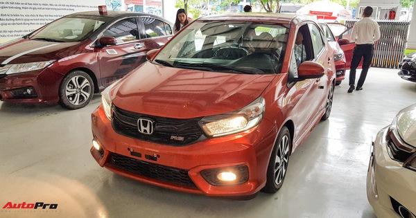 Chi tiết Honda Brio vừa về đại lý, đối thủ mới của VinFast Fadil và Hyundai Grand i10 chỉ còn chờ giá bán chính thức
