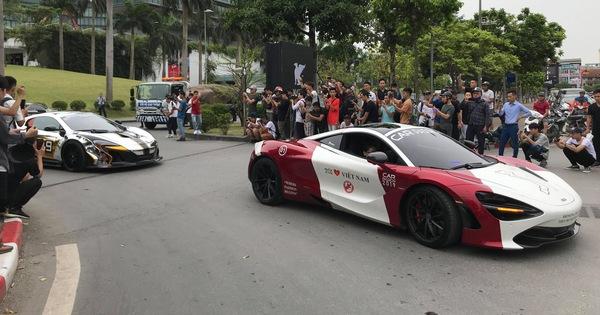 Trực tiếp Car Passion ngày 2: 18 siêu xe, xe thể thao chính thức khởi hành tới Hạ Long