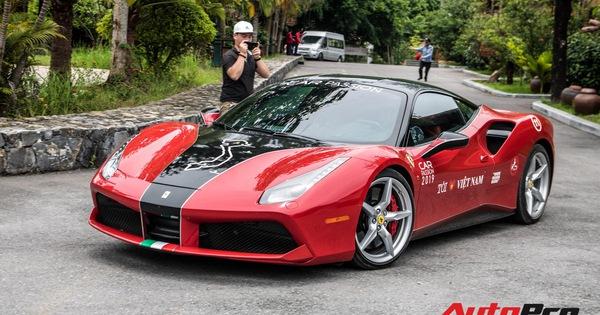 """Ferrari 488 GTB """"hàng thửa"""" của đại gia Hà Nội bất ngờ xuất hiện ở chặng cuối Car Passion 2019"""