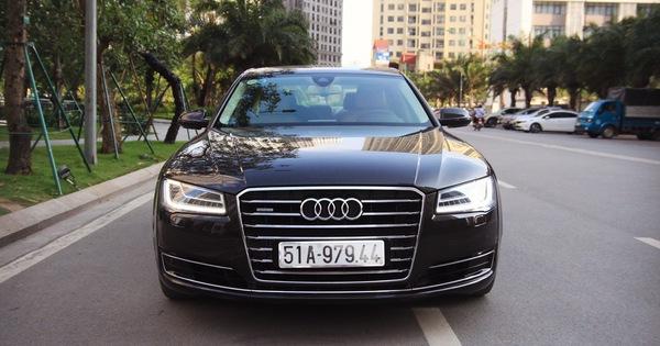 """Audi A8 L 2015 giá gần 2,9 tỷ đồng, lựa chọn cho người chán """"Mẹc"""" S, """"Bim"""" 7"""