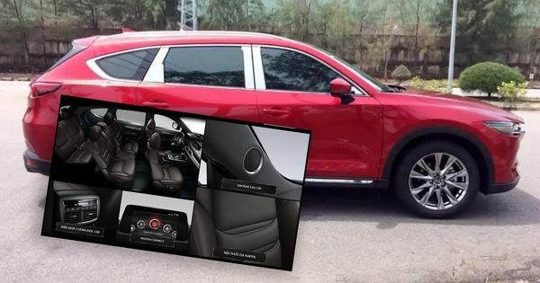 Lộ hình không che và nhiều thông tin chính hãng về Mazda CX-8 trước ngày ra mắt