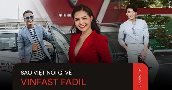 """VinFast Fadil """"đốn tim"""" sao Việt ở những điểm này ngay trong lần trải nghiệm đầu tiên"""