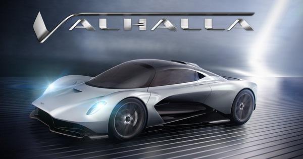 Đặt tên xe luôn bắt đầu bằng chữ V, Aston Martin chốt tên Valhalla cho siêu xe mới