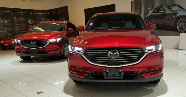 Mazda CX-8 bất ngờ chốt giá từ 1,149 tỷ đồng, tạo sức ép lên Hyundai Santa Fe