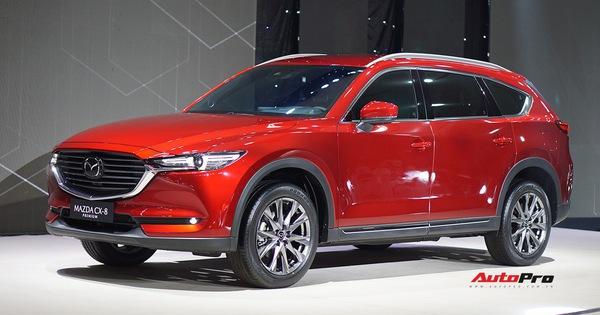 Mazda CX-8 giá từ hơn 1,1 tỷ đồng ra mắt – Át chủ bài của THACO ở phân khúc SUV 7 chỗ