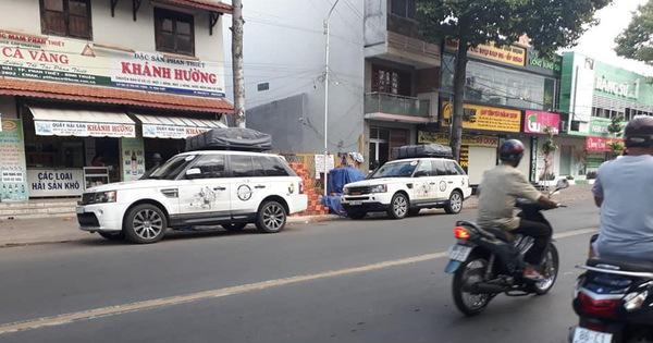 """7 chiếc Range Rover """"độ"""" ống thở thuộc sở hữu của ông chủ cafe Trung Nguyên """"bất thình lình"""" xuất hiện tại Phan Thiết"""