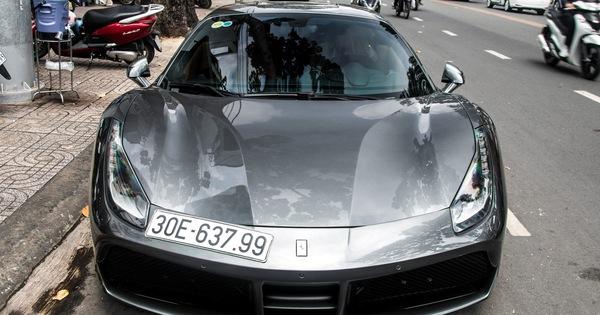 """Sau nhiều năm """"chuyển khẩu"""" từ Nam ra Bắc, Ferrari 488 GTB đầu tiên Việt Nam về tay chủ showroom siêu xe có tiếng tại Sài Gòn"""