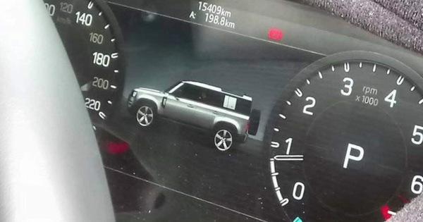 Chỉ một bức ảnh duy nhất, nội ngoại thất Land Rover Defender lộ diện cùng lúc