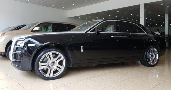 4 năm tuổi, Rolls-Royce Ghost Series II vẫn có giá hơn 20 tỷ đồng