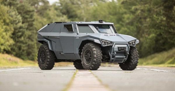 Arquus Scarabee: Quái thú quân sự bí ẩn do Volvo chế tạo