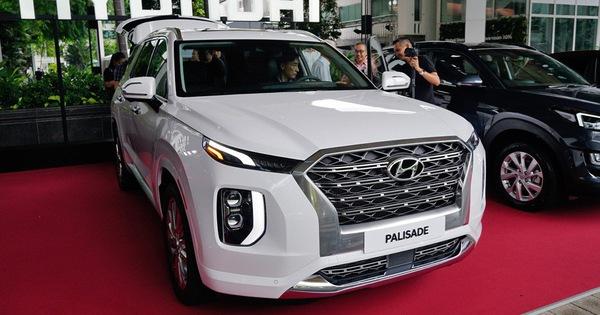 Lộ động cơ Hyundai Palisade tại Việt Nam và giá tính trước bạ 1,87 tỷ đồng