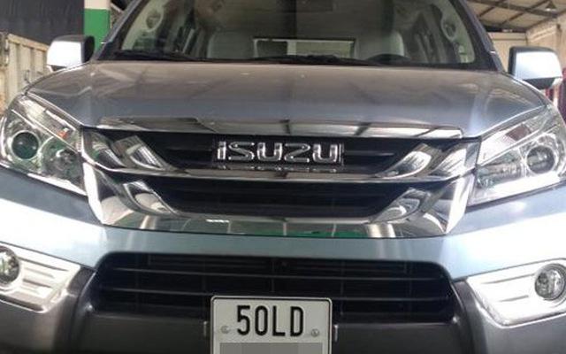 Isuzu MU-X, đối thủ của Toyota Fortuner, đã về Việt Nam