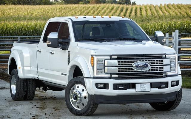 Bạn sẽ phải chi 2,8 triệu Đồng để đổ đầy bình cho Ford F-Series Super Duty 2017