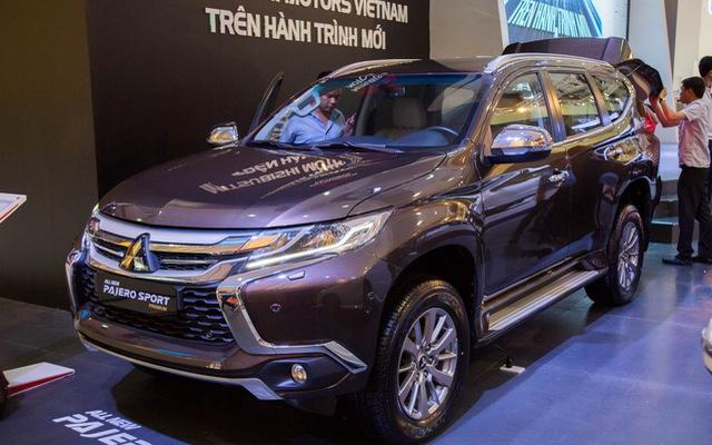 Mitsubishi Pajero Sport 2016 được chốt giá 1,4 tỷ Đồng tại Việt Nam